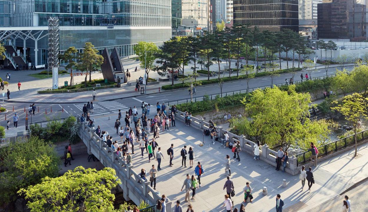 La nature dans l'espace urbain